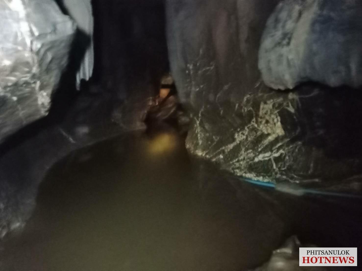 พระติดในถ้ำพระไทรงาม อ.เนินมะปราง 3 วัน ฝนตกหนักน้ำท่วมออกไม่ได้ -  Phitsanulok Hotnews